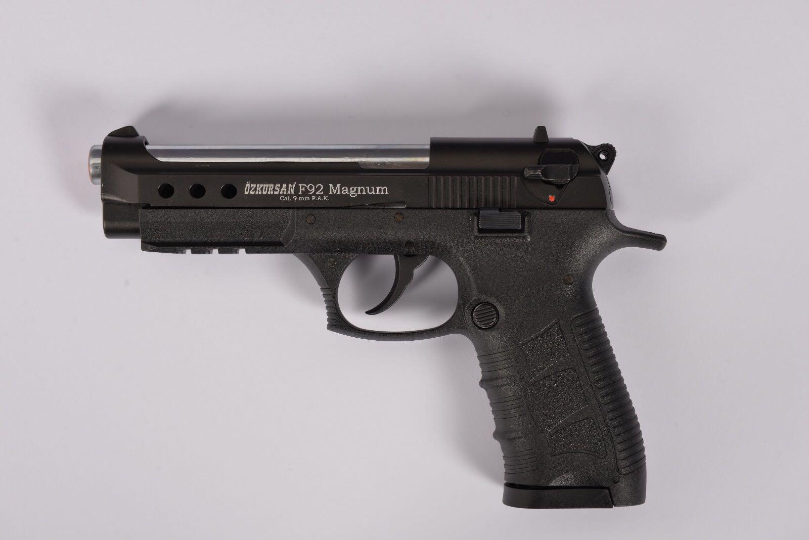 ozkursan tabanca F92 kurusıkı tabanca